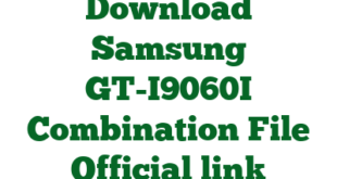 Download Samsung GT-I9060I Combination File Official link