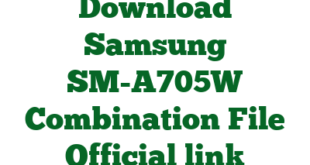 Download Samsung SM-A705W Combination File Official link