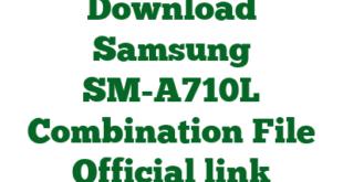 Download Samsung SM-A710L Combination File Official link