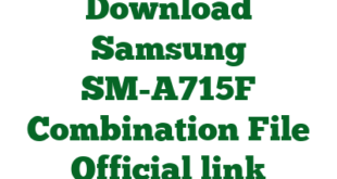 Download Samsung SM-A715F Combination File Official link