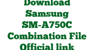 Download Samsung SM-A750C Combination File Official link