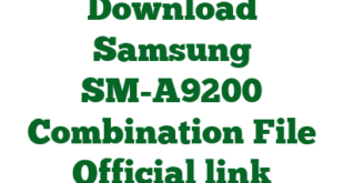 Download Samsung SM-A9200 Combination File Official link