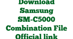 Download Samsung SM-C5000 Combination File Official link