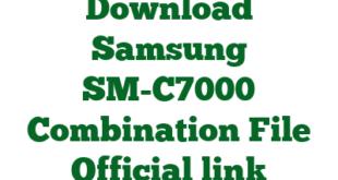 Download Samsung SM-C7000 Combination File Official link