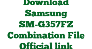 Download Samsung SM-G357FZ Combination File Official link