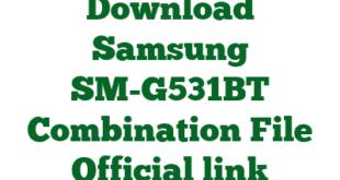 Download Samsung SM-G531BT Combination File Official link