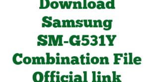Download Samsung SM-G531Y Combination File Official link
