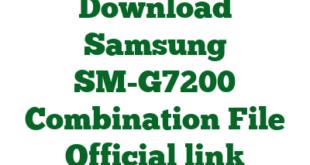 Download Samsung SM-G7200 Combination File Official link