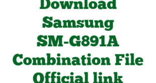 Download Samsung SM-G891A Combination File Official link
