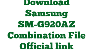 Download Samsung SM-G920AZ Combination File Official link