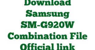 Download Samsung SM-G920W Combination File Official link