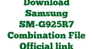 Download Samsung SM-G925R7 Combination File Official link