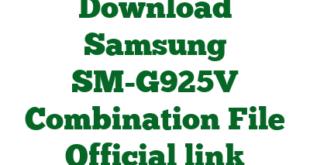 Download Samsung SM-G925V Combination File Official link