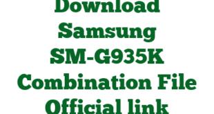 Download Samsung SM-G935K Combination File Official link