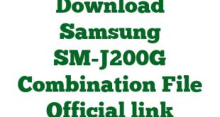 Download Samsung SM-J200G Combination File Official link