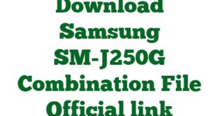 Download Samsung SM-J250G Combination File Official link