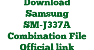 Download Samsung SM-J337A Combination File Official link