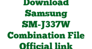 Download Samsung SM-J337W Combination File Official link