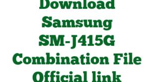 Download Samsung SM-J415G Combination File Official link
