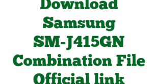 Download Samsung SM-J415GN Combination File Official link