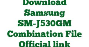 Download Samsung SM-J530GM Combination File Official link