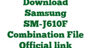 Download Samsung SM-J610F Combination File Official link