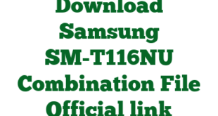 Download Samsung SM-T116NU Combination File Official link