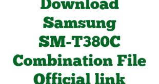 Download Samsung SM-T380C Combination File Official link