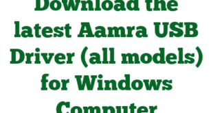 Download the latest Aamra USB Driver (all models) for Windows Computer