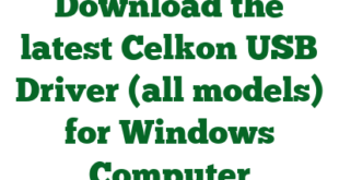 Download the latest Celkon USB Driver (all models) for Windows Computer