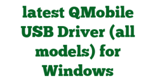 Download the latest QMobile USB Driver (all models) for Windows Computer