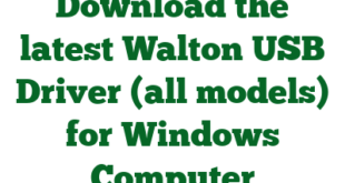 Download the latest Walton USB Driver (all models) for Windows Computer